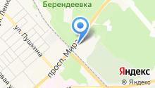 HEADLINER на карте