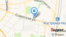 Красивый бизнес на карте