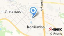 Газпром газораспределение Иваново на карте