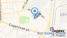 Архитекторы Костромы на карте
