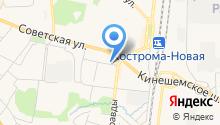 DOROG.NET на карте