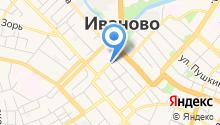 Ивановская афиша на карте