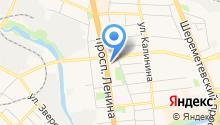 Система бизнес коммуникаций на карте