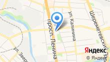 Ивановская Синагога на карте