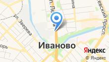 RPK Иваново - Ремонт компьютеров в Иваново на карте