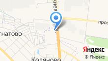 АЗС СНК нефть на карте