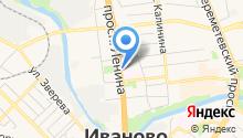 Центральная станция скорой медицинской помощи г. Иваново на карте