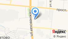 OK` КРАСКА на карте