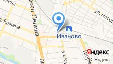 Сеть салонов-магазинов автостекол на карте