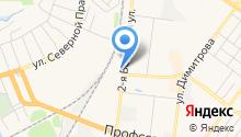 ЛесТрак на карте