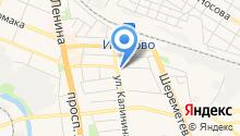 Ивановский комплексный центр социального обслуживания населения на карте