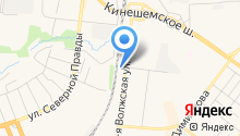 Автомастак на карте