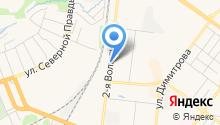 Автобус на карте