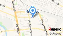 Магазин продуктов на Октябрьской на карте