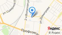 Шинный центр на Сутырина на карте