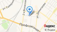 Автолидер на карте
