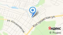 Аргус-Кострома на карте