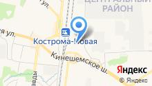 ФОРД ЦЕНТР Кострома на карте