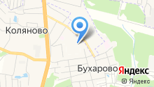 Коляновская средняя общеобразовательная школа на карте