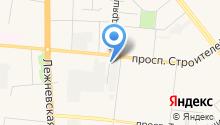 Нитекс на карте