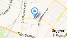 Дорожное хозяйство, МБУ на карте