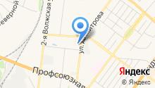 Макойл на карте