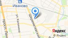 Инфолайн на карте