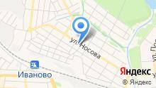 Автостекло на Носова на карте