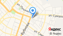 Автостоянка на ул.10 Августа на карте