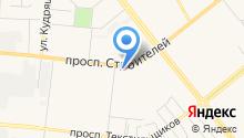Банкомат, АКБ Кранбанк, ЗАО на карте