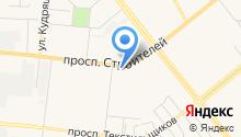АКБ Кранбанк, ЗАО на карте