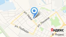 Кубань, ЗАО на карте