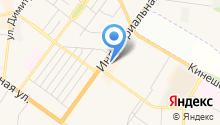 Банкомат, Костромаселькомбанк на карте