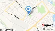 Новокубанский реабилитационный центр для детей и подростков с ограниченными возможностями на карте