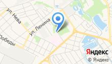 Новокубанский комплексный центр социального обслуживания населения на карте