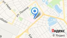 Центральная районная больница Новокубанского района на карте