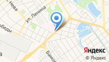 Бюро судебно-медицинской экспертизы по Новокубанскому району на карте