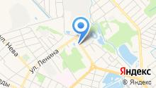 Красный замок на карте