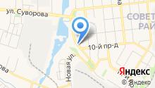 Автокомплекс на Первой на карте