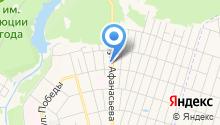 Автосклад на Сортировке на карте