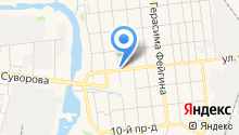 Автосервис на Окуловой, 11 на карте