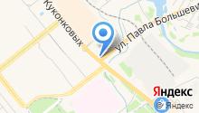 А-145 на карте