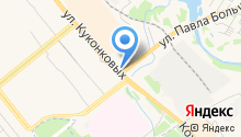 СТО Иваново на карте