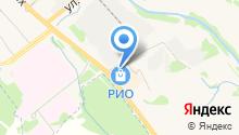 Ярославская мануфактура на карте