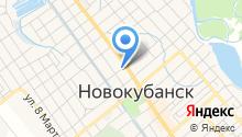 Новокубанский районный суд на карте
