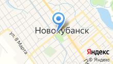 Новокубанское районное казачье общество на карте