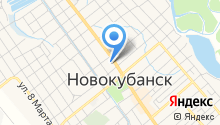 Администрация муниципального образования Новокубанский район на карте