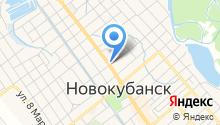 Военный комиссариат по Новокубанскому и Успенскому району на карте