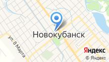 Государственная инспекция Гостехнадзора по Новокубанскому району на карте