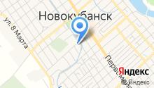 Управление организации исполнения наказаний по Новокубанскому району на карте